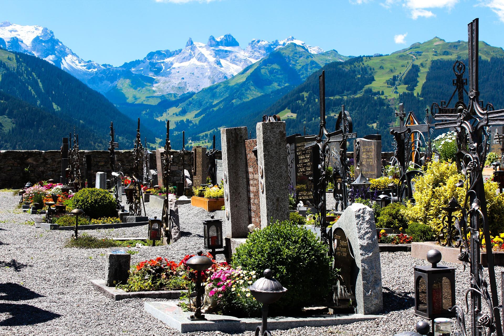 Connaissez vous les tombes paysagères ?
